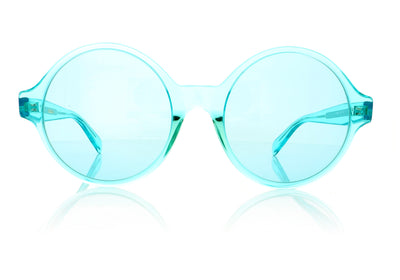 Céline CL40051I 86N Turquoise Sunglasses at OCO