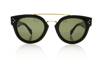 Céline New Preppy CL41043/S 807 Black Sunglasses