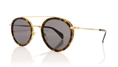 Céline Mia CL41424/S ANT Dark Havana Gold Sunglasses at OCO