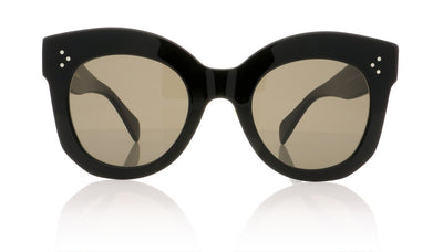 Céline Chris CL41443/S 06Z Black Sunglasses at OCO