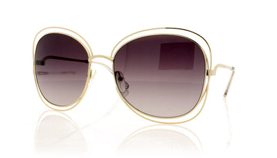 Chloé Carlina CE119S 734 Gold Sunglasses