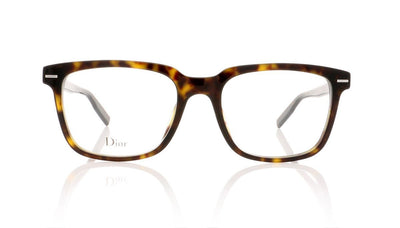 Dior Homme Blacktie 223 086 Dark Havana Glasses at OCO