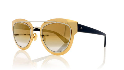 Dior Chromic LML Gold Sunglasses at OCO