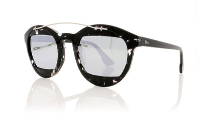 Dior Mania1 Diormania1 AB8 Havana Grey Sunglasses at OCO