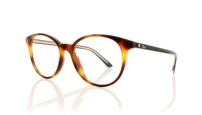 Dior Montaigne 47 581 Havana Glasses at OCO