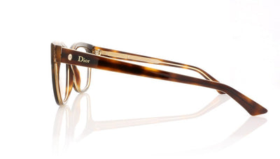 Dior Montaigne 6 G7J Havana Glasses at OCO