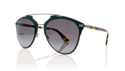 Dior Reflected PVZ Matte Green Sunglasses at OCO