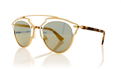 Dior SoReal YN1 Gold Sunglasses at OCO