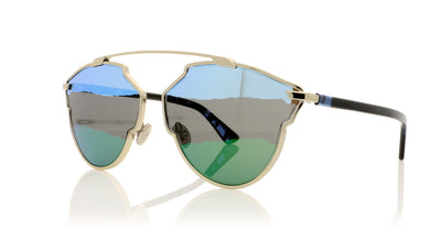 Dior So Real A 3YG Light gold Sunglasses at OCO