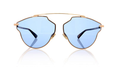 Dior So Real POP DDB Gold Copper Sunglasses at OCO