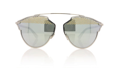 Dior SoRealS 85L Palladium White Sunglasses at OCO