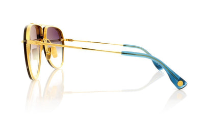 DITA Decade Two DRX 2082 C 18K Gold Sunglasses