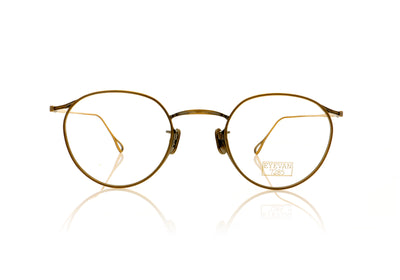 Eyevan 7285 156 901 Brushed Gold Glasses at OCO