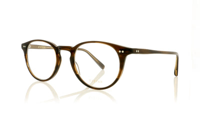 Eyevan 7285 Loewy-E COLB Brown Glasses at OCO