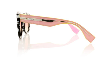 Fendi FF0026/S UDL Marble Pink Sunglasses at OCO