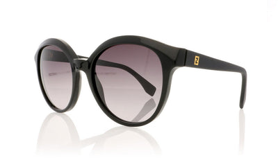 Fendi FF 0045/S 64H Matt Black Sunglasses at OCO