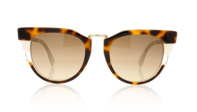 Fendi FF 0063/S MUV Havana Sunglasses at OCO