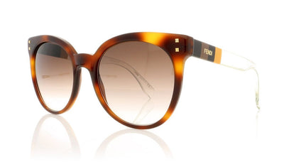 Fendi FF 0083/S E6Z Havana Sunglasses at OCO