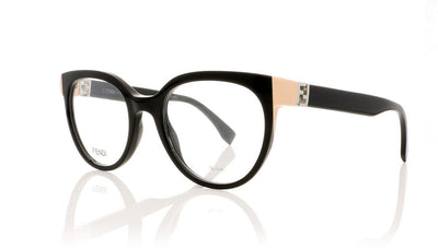 Fendi FF0131 29A Shiny Black Glasses at OCO