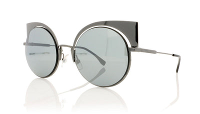 Fendi FF0177/S KJ1 Dark Ruthenium Sunglasses