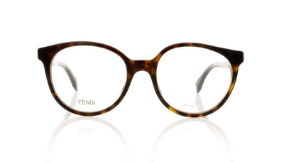 Fendi FF0202 086 Dark Havana Glasses at OCO