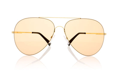Finest Seven Zero 11 YEL-LB Yellow gold Sunglasses at OCO