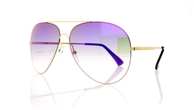 Finest Seven Zero 11 YEL/PURP Yellow Gold Sunglasses at OCO