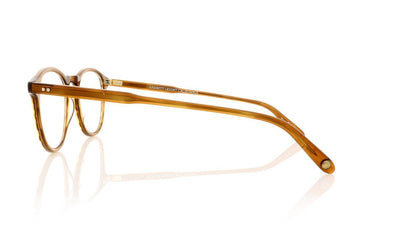 Garrett Leight Hampton 1001 DB Demi Blonde Glasses at OCO
