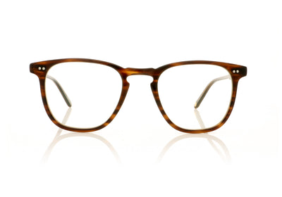 Garrett Leight Brooks 1002 BRT Brandy Tortoise Glasses at OCO