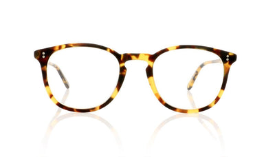 Garrett Leight Kinney 1007 MDKT Matte Dark Tortoise Glasses at OCO