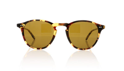 Garrett Leight Hampton 2001 DKT/B PLR Dark Tortoise Sunglasses at OCO