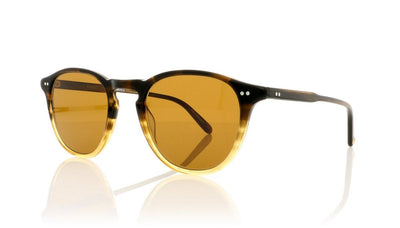 Garrett Leight Hampton 2001 SWD/SFPCOF Sandalwood Drift Sunglasses at OCO