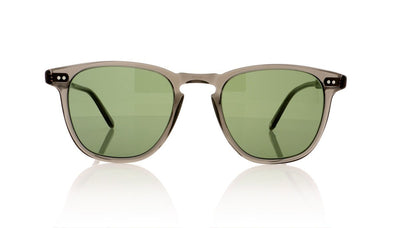 Garrett Leight Brooks 2002 GCR/SPFG15 Grey Crystal Sunglasses at OCO