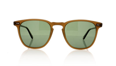 Garrett Leight Brooks 2002 MESP/G15 PLR Matte Espresso Sunglasses at OCO