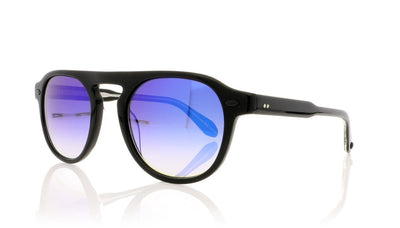 Garrett Leight Harding 2006 BK/BLM Black Sunglasses at OCO