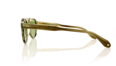 Garrett Leight Nick Wooster Harding 2006 MIL Military(Green Tortoise Sunglasses at OCO