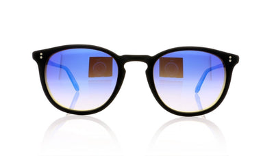 Garrett Leight Kinney 2007 MBK/BLM Mt Black Sunglasses at OCO