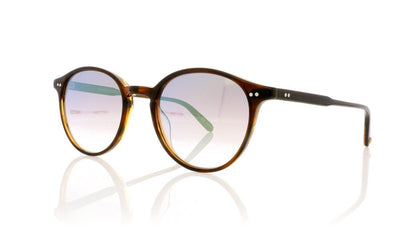 Garrett Leight Pacific 2035 RST/GLM Russet Tortoise Sunglasses at OCO