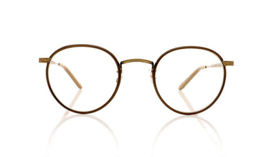 Garrett Leight Wilson 3003 BRNPL-BG-POMV Brown Pearl Glasses at OCO