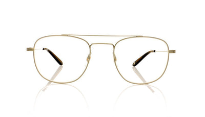 Garrett Leight Club House 3016 BS-CHR Brushed Silver Glasses at OCO