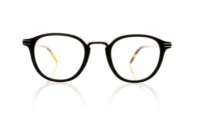 Garrett Leight Hampton Combo MBK-DKT Matte Black Glasses at OCO