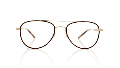 Garrett Leight Linnie 3020 RT-G Red Tortoise Glasses at OCO