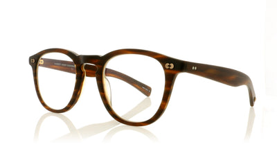 Garrett Leight Hampton X 1082 Hampton X MBRT Matte Brandy Tortoise Glasses at OCO