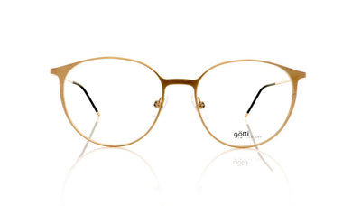 Götti Leen GLB Gold Brushed Glasses at OCO