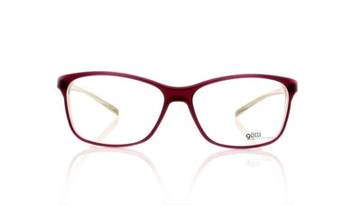Götti Wiggy PUY Purple Transparent (Matte Finish) Glasses at OCO