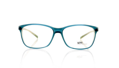 Götti Wiggy TRY Turquoise Transparent Glasses at OCO