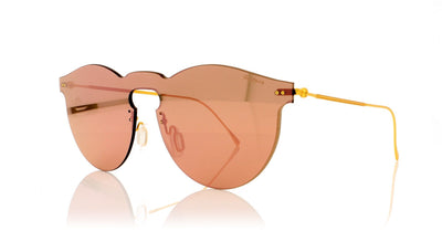 Illesteva Leonard Mask 43 Bright Rose Sunglasses