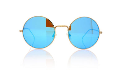 Illesteva Porto Cervo C4 Gold Sunglasses at OCO