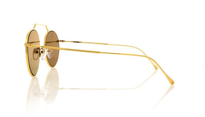 Illesteva Wynwood 2 6 Gold Sunglasses at OCO