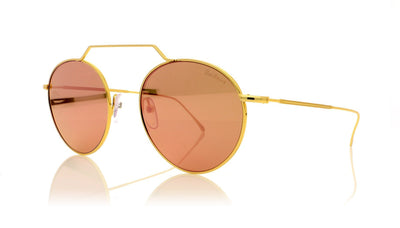 Illesteva Wynwood 2 7 Gold Sunglasses at OCO